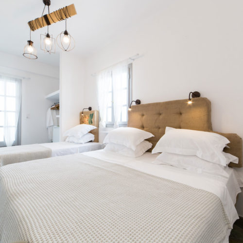 Coffee Room - Evi Rooms to Let in Alyki   Paros   Cyclades   Greece.