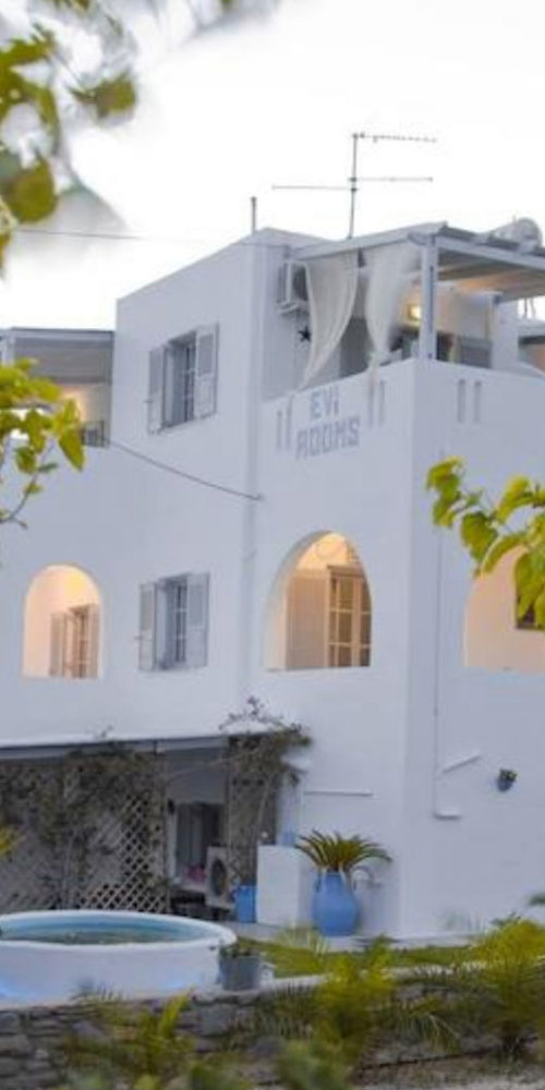 Evi Rooms to Let in Alyki | Paros | Cyclades | Greece.
